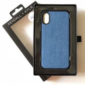 iPhone X Case Denim Blue Jean Phone Case